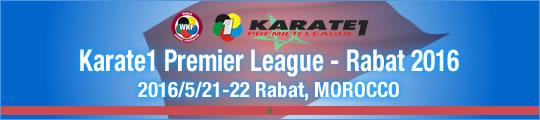 WKF Karate1 Premier League - Rabat 2016/5/21-22 Rabat, Morocco
