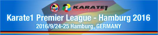 WKF Karate1 Premier League - Hamburg 2016 2016/9/24-25 Hamburg, Germany