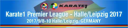 WKF Karate1 Premier League - Halle/Leipzig 2017 2017/9/8-10 Halle/Leipzig, Germany