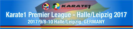 WKF Karate1 Premier League - Halle/Leipzig 2017 2017/9/8-10 Halle/Leipzig, Germany
