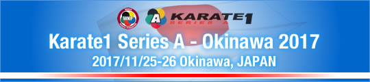 WKF Karate1 Series A - Okinawa 2017 2017/11/25-26 Okinawa, Japan