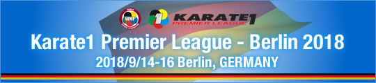 WKF Karate1 Premier League - Berlin 2018 2018/9/14-16 Berlin, Germany