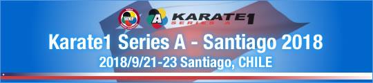 WKF Karate1 Series A - Santiago 2018 2018/9/21-23 Santiago, Chile