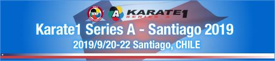 WKF Karate1 Series A - Santiago 2019 2019/9/20-22 Santiago, Chile