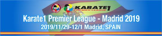 WKF Karate1 Premier League - Madrid 2019 2019/11/29-12/1 Madrid, Spain
