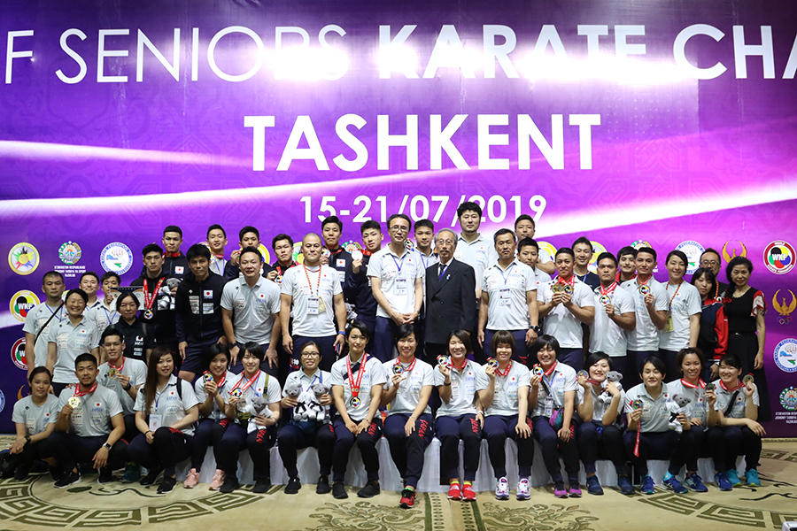 AKF第16回アジア選手権 金メダル6個を獲得