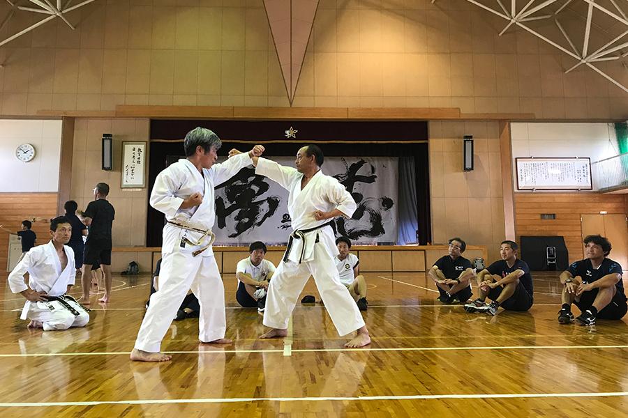 新潟県の体育指導者を対象にした武道講習会に講師を派遣