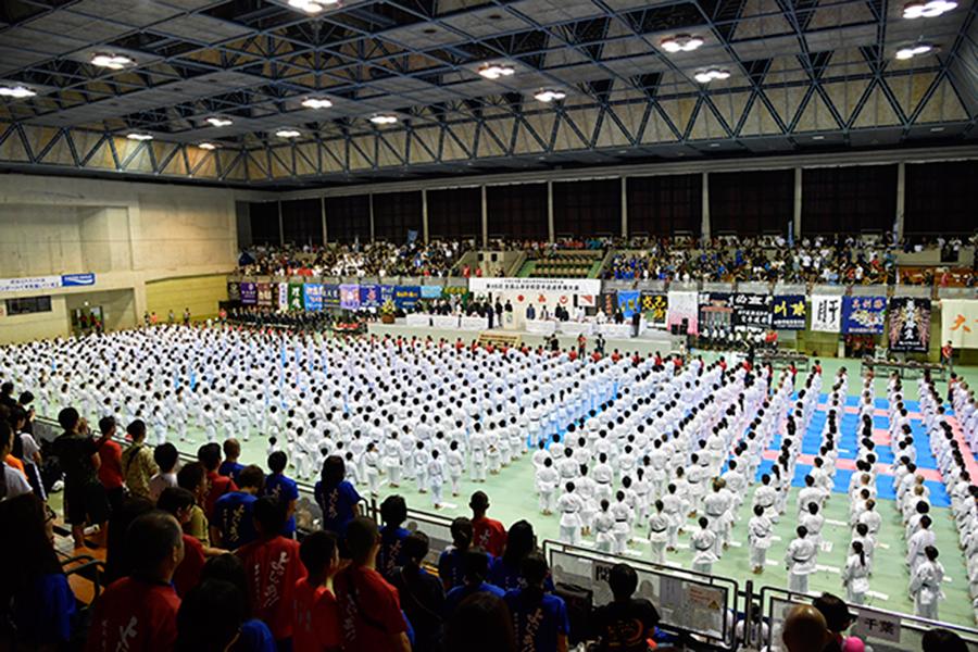 第46回全国高等学校空手道選手権大会(沖縄インターハイ)が開幕