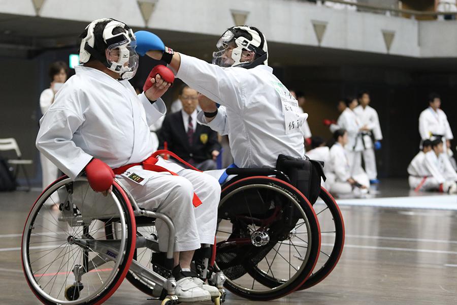 第15回全日本障がい者空手道競技大会が開催