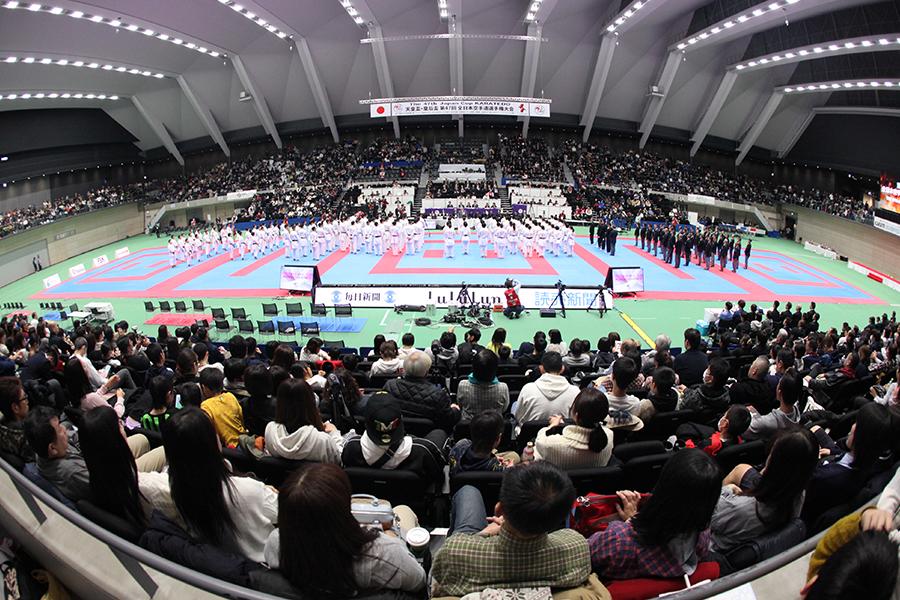 「第47回全日本空手道選手権大会」を開催いたしました