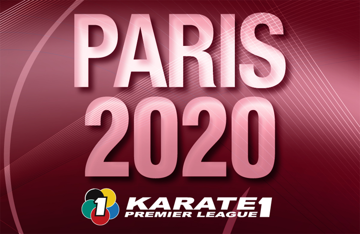 1/24〜26「KARATE1プレミアリーグ2020パリ大会」が開催されます