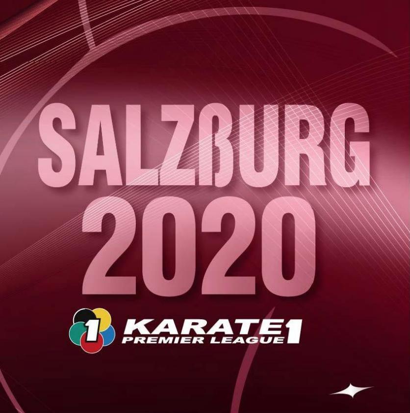 2/28〜3/1「KARATE1プレミアリーグ2020ザルツブルク大会」が開催されます