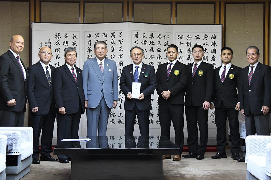 【御礼】首里城再建の支援金を沖縄県に贈呈